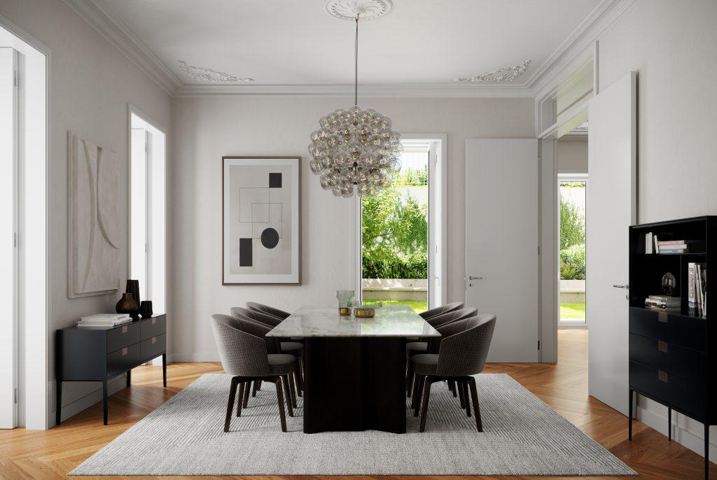 Dining Room - Rodrigo da Fonseca Prime Residences - Mexto