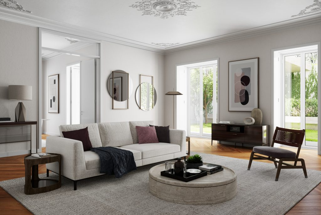 Living Room - Rodrigo da Fonseca Prime Residences - Mexto